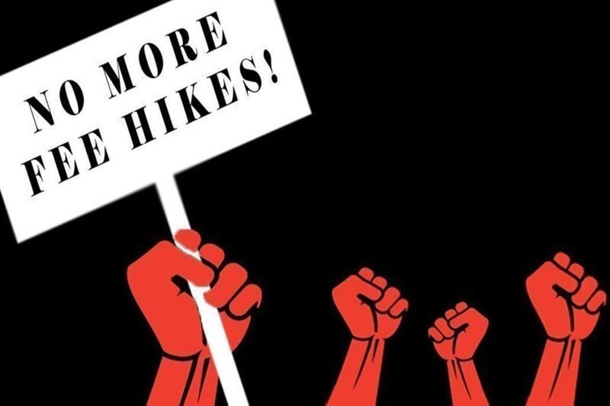 a hiked fee