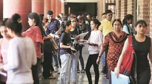 Attending Classes Amid The Coronavirus   Credits: The Indian Express